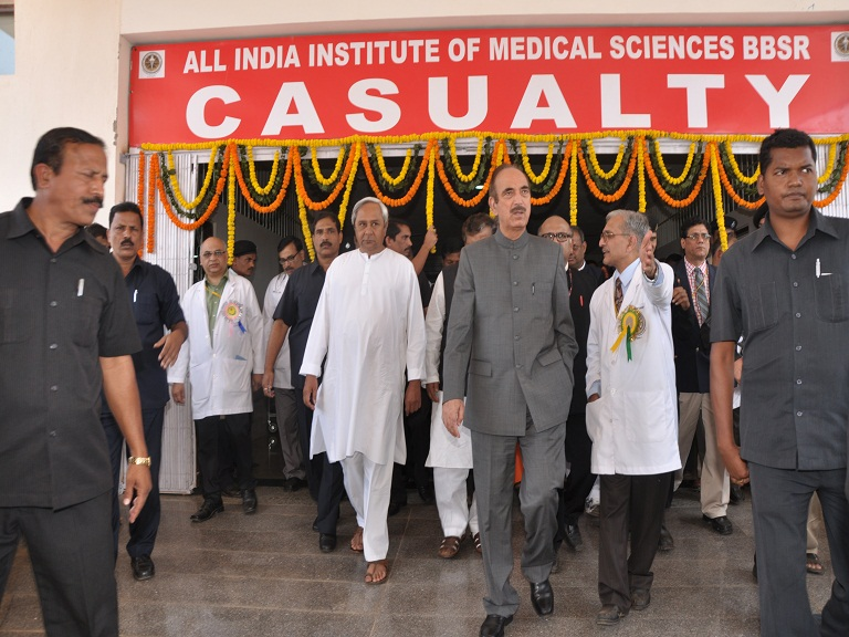 Shri Ghulam Nabi Azad ji,Hon'ble Chief Minister of Health & Family Welfare,Govt. of India