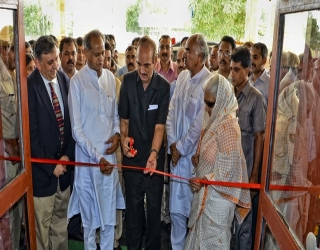 AIIMS Jodhpur Inauguration-Cutting the Ribbon at OPD Block